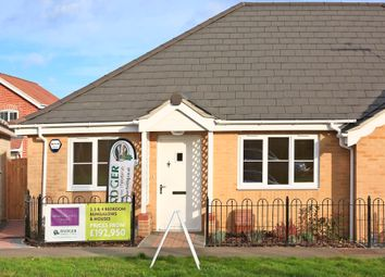 Thumbnail 2 bed semi-detached bungalow for sale in Meadowlands, Wrentham, Beccles