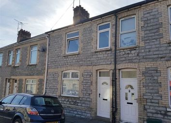 Thumbnail 3 bedroom terraced house for sale in Quarella Street, Barry
