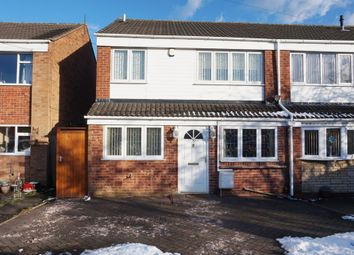 Thumbnail 3 bed semi-detached house for sale in Honiley Drive, Sutton Coldfield