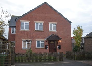Thumbnail 2 bed flat to rent in The Burgage, Market Drayton