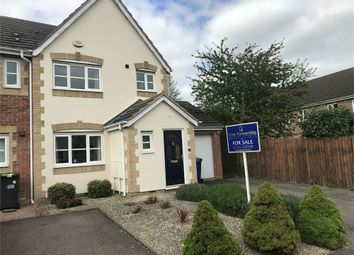Thumbnail 3 bed end terrace house for sale in Caraway Drive, Branston, Burton-On-Trent, Staffordshire
