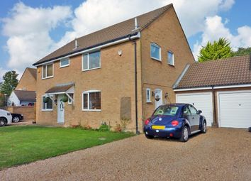 Thumbnail 3 bed semi-detached house to rent in Seven Acres, New Ash Green, Longfield
