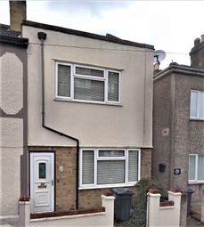 Thumbnail 3 bedroom end terrace house for sale in Freemasons Road, Croydon