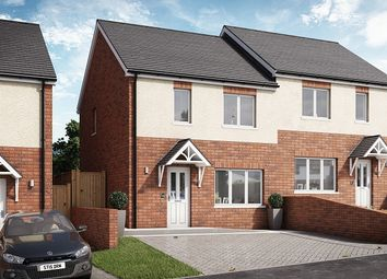 Thumbnail 2 bed semi-detached house for sale in Willow, Plot 15 Waunsterw, Rhydyfro, Pontardawe.