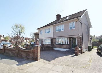 Thumbnail 4 bed semi-detached house for sale in Carter Drive, Collier Row, Romford