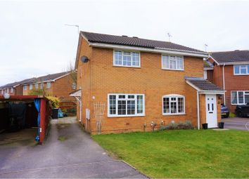 Thumbnail 2 bed semi-detached house for sale in Sheerwold Close, Swindon