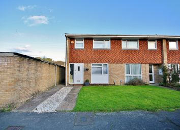 Thumbnail 3 bed end terrace house for sale in Paddocks Mead, Knaphill, Woking