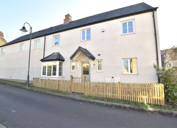 Thumbnail 4 bed end terrace house for sale in Knapps Crescent, Woodmancote, Cheltenham, Gloucestershire
