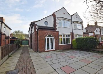 Thumbnail 4 bed semi-detached house for sale in Didsbury Park, Didsbury, Manchester