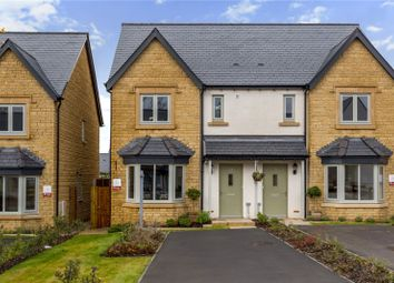 Thumbnail 3 bed semi-detached house for sale in New Town Park, Toddington, Cheltenham, Gloucestershire