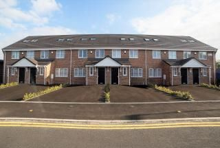 Thumbnail 3 bedroom terraced house to rent in Lyme Valley Road, Newcastle