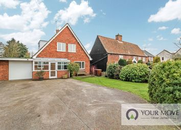 Thumbnail 3 bed detached house for sale in Yarmouth Road, Kirby Cane, Bungay