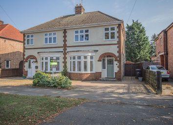 Thumbnail 3 bed semi-detached house for sale in Fulbridge Road, Peterborough, Cambridgeshire.
