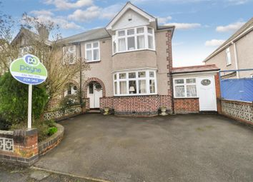 Thumbnail 4 bed semi-detached house for sale in Hartington Crescent, Earlsdon, Coventry