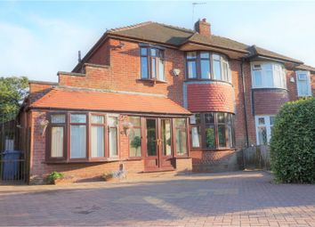 Thumbnail 4 bed semi-detached house for sale in Mainway, Manchester