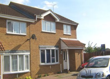 Thumbnail 3 bed terraced house to rent in Spencer Way, Stowmarket, Suffolk