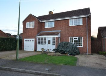 Thumbnail 5 bed detached house for sale in Sancroft Way, Fressingfield, Eye