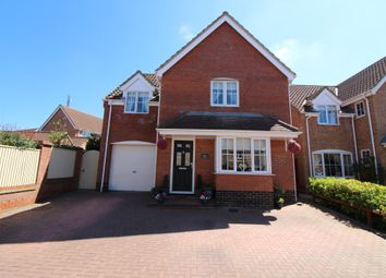 Thumbnail 4 bed detached house for sale in John Woodhouse Drive, Caister-On-Sea, Great Yarmouth