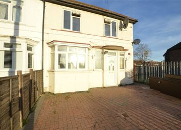 Thumbnail 3 bedroom end terrace house to rent in Crabtree Avenue, Wembley, Greater London