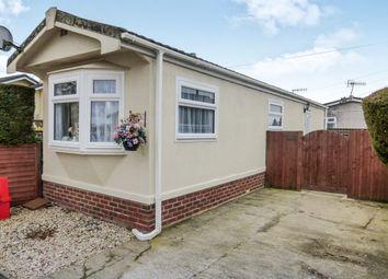 Thumbnail 2 bedroom mobile/park home for sale in Laburnum Court, Smallfield, Horley
