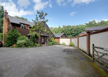 Thumbnail 3 bed detached house to rent in Longcross Road, Longcross, Surrey