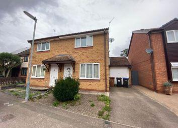 Thumbnail 2 bed semi-detached house for sale in Longford Avenue, Little Billing, Northampton