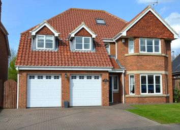 Thumbnail 5 bed detached house for sale in Monkton Rise, Guisborough
