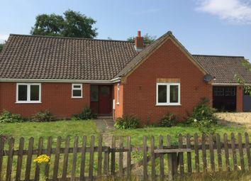 Thumbnail 3 bed detached house for sale in Thuxton, Norwich, Norfolk