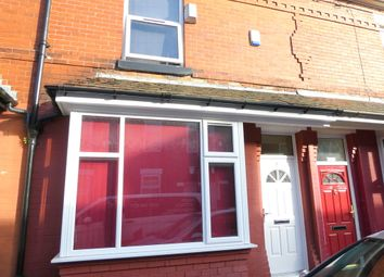 Thumbnail 4 bedroom terraced house to rent in Hibbert Street, Rusholme, Manchester