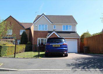 Thumbnail 4 bed detached house for sale in Glazebury Way, Northburn Manor, Cramlington