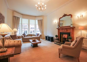 Thumbnail 3 bed flat to rent in Falkland Street, Hyndland, Glasgow