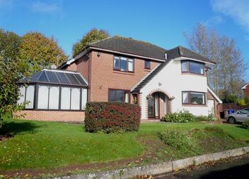 Thumbnail 4 bed detached house for sale in Grenadier Close, Trentham, Stoke-On-Trent