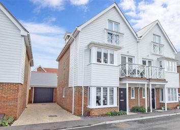 Walters Close, Holborough Lakes, Snodland, Kent ME6. 4 bed town house for sale