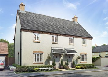 "Thumbnail 3 bed semi-detached house for sale in ""The Farndon"" at Towcester Road, Old Stratford, Milton Keynes"