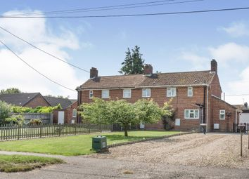 Thumbnail 3 bed semi-detached house for sale in Pages Lane, Saham Toney, Thetford