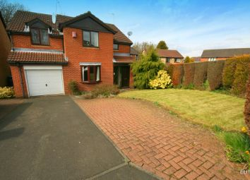 Thumbnail 4 bed detached house for sale in Sinderby Close, Gosforth, Newcastle Upon Tyne
