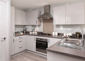 """Thumbnail 4 bed terraced house for sale in """"Helmsley"""" at Gold Furlong, Marston Moretaine, Bedford"""