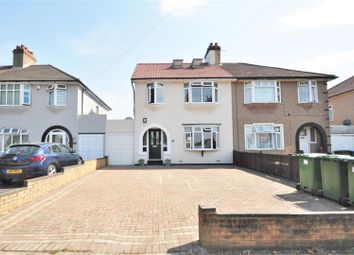 Thumbnail 4 bed semi-detached house for sale in Hythe Avenue, Bexleyheath