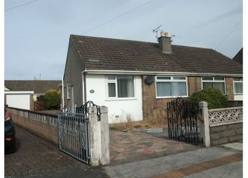 Thumbnail 2 bed semi-detached bungalow for sale in Sandside Drive, Morecambe