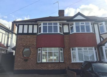 Thumbnail 3 bed end terrace house to rent in Lynmouth Avenue, Morden