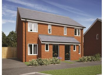 Thumbnail 1 bedroom semi-detached house for sale in Plot 243, Badbury Park, Rainscombe Road, Swindon, Wiltshire