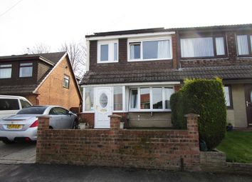 Thumbnail 2 bed semi-detached house for sale in Rossendale Close, Shaw, Oldham