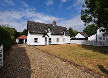 Thumbnail 4 bed cottage for sale in Half Moon Lane, Redgrave, Diss