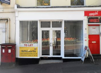 Thumbnail Commercial property to let in Tor Hill Road, Torquay