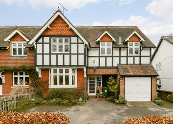 Thumbnail 5 bedroom semi-detached house for sale in Hitchurst Cottages, Stane Street, Dorking
