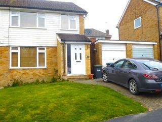 Thumbnail 3 bed semi-detached house to rent in Milton Crescent, East Grinstead, West Sussex