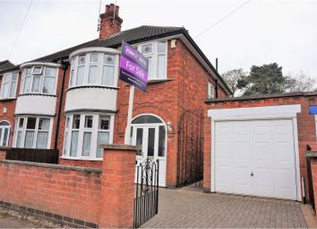 Thumbnail 3 bedroom semi-detached house for sale in Broadway Road, Leicester