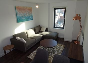 Thumbnail 1 bed flat to rent in Drapery House, Fabrick Square, Birmingham
