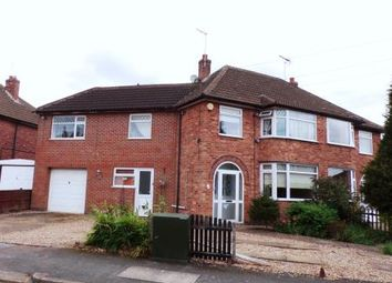 Thumbnail 5 bed semi-detached house for sale in Horndean Avenue, Wigston Fields, Leicester, Leicestershire