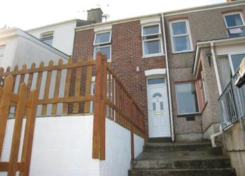 Thumbnail 2 bedroom terraced house to rent in North View, East Looe, Cornwall